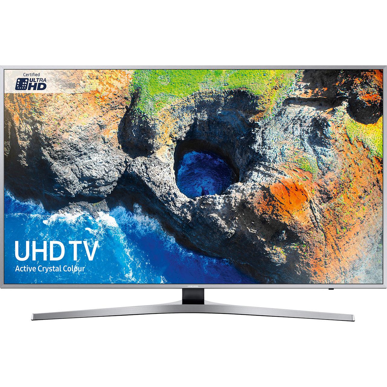 "Samsung UE40MU6400 40"" Smart 4K HDR TV -Silver ( 6 Payments of £71.50 % APR ) £429 @ AO.com"