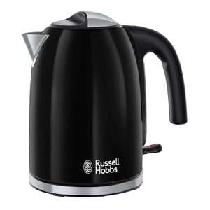 Russell Hobbs  Stainless Steel Black Kettle £15 delivered + 2 Year Guarantee @ Debenhams