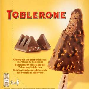 Toblerone Ice Cream is here! Get 3X100ml for £3.00 at Tesco