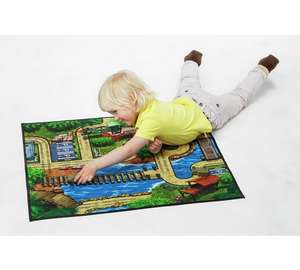 Chad Valley Military Themed Double Sided Playmat with 2 Vehicles was £11.99 now £3.99 C+C @ Argos