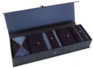 Tommy Hilfiger socks box of 5, £8  instore  in the Bridgend outlet