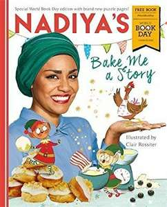 Nadiya's bake me a story: World Book Day. Paperback. £1 (Prime) / £3.99 (non Prime) @ Amazon. £10 minimum spend on books without Prime for free delivery.