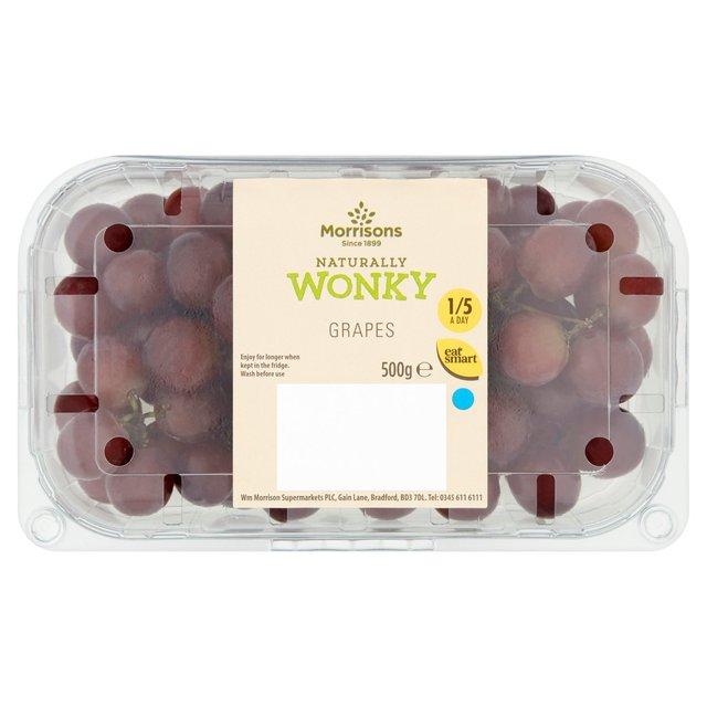 Morrisons wonky grapes 500g £1.25 @ Morrisons