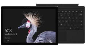 Surface Pro i5/ 128GB + Black Type Cover Bundle - Save £354.99 - £749 @ Microsoft