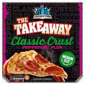 Chicago Town The Takeaway Classic Crust Pepperoni Plus / Four Cheese Melt £1.39 @ Iceland (Pizza Express Pomodoro Pesto £1.25)
