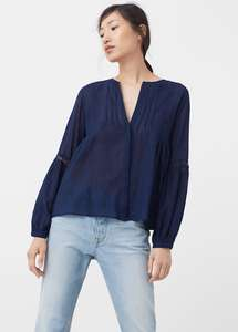 Blouses, Trousers, Shirts £6 each @ Mango Outlet (Free P&P on £40+ spend or £2.95)
