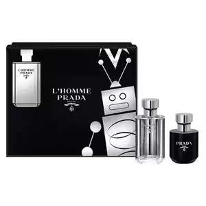 Prada l'homme gift set 50ml - £34.99 /  £31.49 with code at  The Perfume Shop