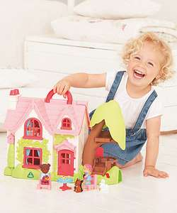 Upto 60% Off Happyland Sets + Free C+C @ ELC eg Happyland Cherry Lane Cottage was £60 now £25