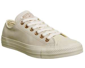 Converse All Star Low Leather Light Twine Rose Gold was £64.99 now £35 C+C @ Office Shoes