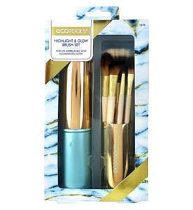 Ecotools highlight & glow brush set £5 instore @ boots crayford