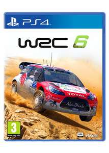 WRC 6 (PS4) £13.85 Delivered @ Base