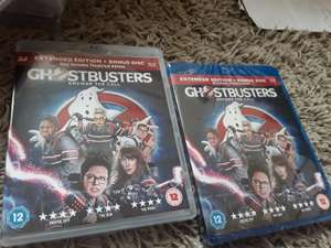 Ghostbusters Answer the Call Blu Ray and Blu Ray 3D only £1 (new and sealed) @ Poundland