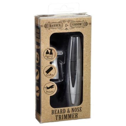 Barber & Groom Beard & Nose Trimmer (instore) - £2.99 @ B&M