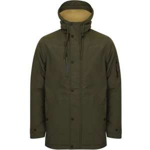 Borg Lined Hooded Parka - Rosin Khaki - Navy - £27.50 delivered @ Tokyo Laundry