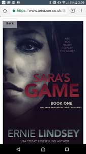 Sara's game free on kindle