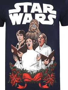 Men's Star Wars Christmas T shirt XXL now £5 was £10 @ Asda George