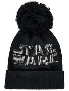 Men's Star Wars bobble hat £4 @ Asdageorge