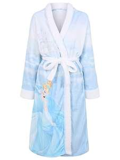 Disney Cinderella ladies hooded dressing gown, size M, was £20 now £10 @ Asda