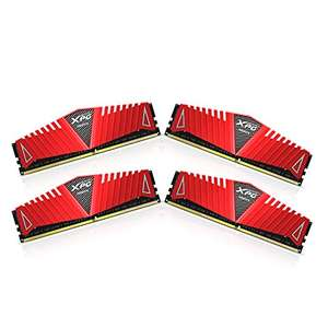 4x 8GB DDR4 3000 MHz CL16 Memory Modules - Red - TOTAL = 32GB DDR4 RAM. - £161.56 @ Amazon