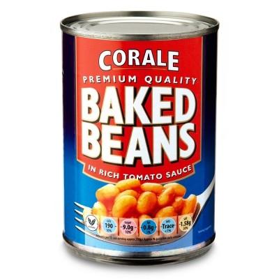 Aldi Corale Premium Quality Baked Beans 4x425g Multipack 89p @ Aldi