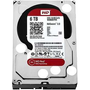 WD Red 6 TB NAS Hard Drive - £166.99 @ Amazon