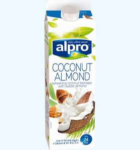 Alpro coconut,hazelnut and almond uht 4 for £4 instore @ Asda