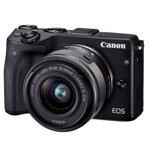 Canon EOS M3 with 15-45mm & 22mm Lenses OR 55-200mm Lenses - £439.61 @ One Stop Digital