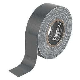 T-Rex T-REX FEROCIOUSLY STRONG CLOTH TAPE GRAPHITE GREY 25MM X 9M  only 99P @ Screwfix