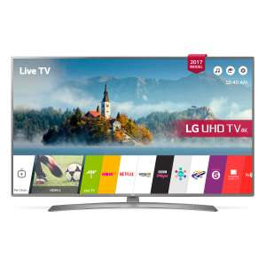 "LG 49UJ670V 49"" 4K Ultra HD HDR Smart TV with Freeview HD and Freeview Play in Grey £439 @ Hughes"