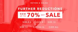 Miss Selfridge BARGAINS - Up to 70% off + Free Delivery! W/code @ Miss Selfridge