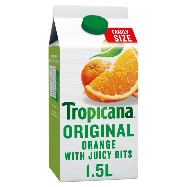 1.5l Tropicana Orange Juice with bits £1@ Heron