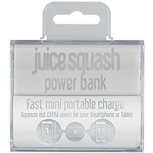 Juice Squash 2800 mAh Power Bank £2.49 @ GAME