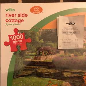 1000 piece jigsaw - 50p instore at Wilkinsons (Exeter)