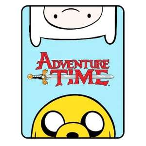 Adventure Time Fleece Blanket (150 x 120cm) £3.99 delivered @ Internet Gift Store