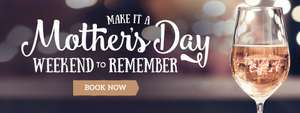Free Evening Meal for Mums this Mother's Day at Toby Carvery