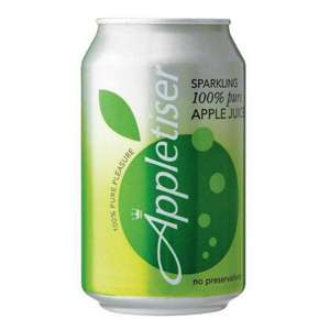 Appletiser 330ml Cans 20p each @ poundstretcher
