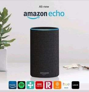 Amazon Echo 2  Brand New with free delivery - £82.98 @ eBay (sold by bang-on-tools)