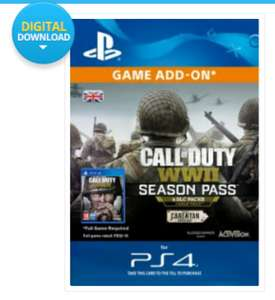 Call of Duty WW2 Season Pass - PS4 £35.99 @ CDKeys