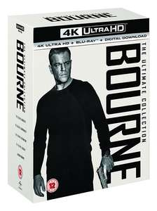Bourne: The Ultimate 5-movie Collection (4K Ultra HD) - £27 delivered @ Zoom