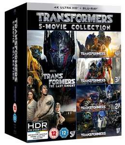 Transformers: 5-movie Collection (4K Ultra HD) - £36 delivered @ Zoom