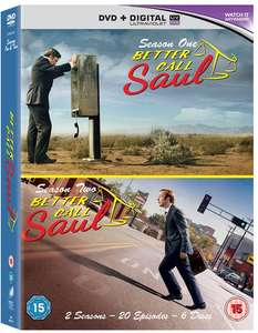 Better Call Saul: Season 1 & 2 (Boxset With UV Copy) [DVD] £12.59 with code SIGNUP10 @ zoom