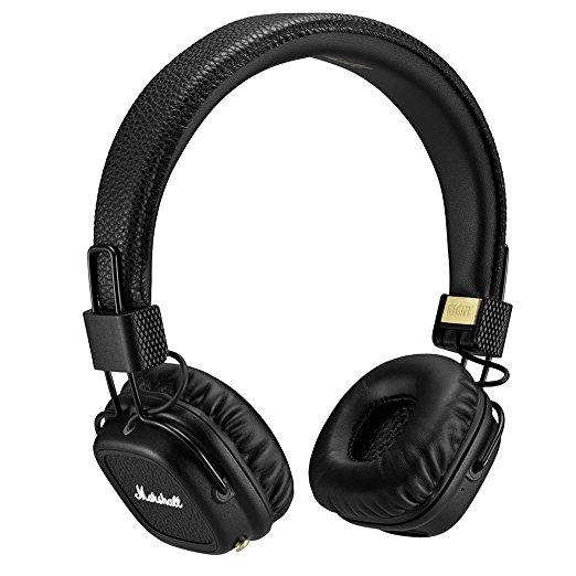 Marshall - Major II Bluetooth Headphones (Black/White) - was £113.73 now £69 @ Amazon