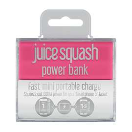 Juice Squash 2800 mAh Power Bank £2.99 @ GAME