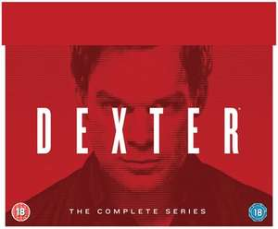 Dexter Complete Series DVD - Series 1-8 - 33 Discs + FREE Dvd now £22.50 w/code @ Zoom