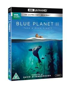Blue Planet 2 UHD Blu ray £22.39 Del @ Zoom (use code in description)