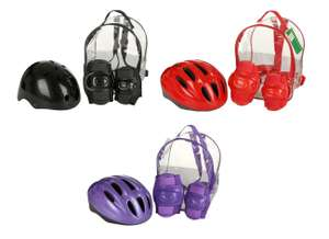 Kids Helmet & Pads Backpack Sets for £5 @ Halfords (Free C&C)