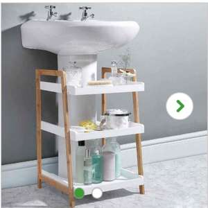Elements Bamboo Under Sink Caddy £15 at  Dunelm (c&c)
