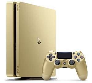 Gold PlayStation 4 with 2 Controllers - £234.99 at Argos