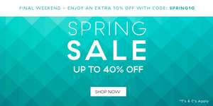 Extra 10% off Your Order includes up to 40% Sale with Code SPRING10 @ Denby