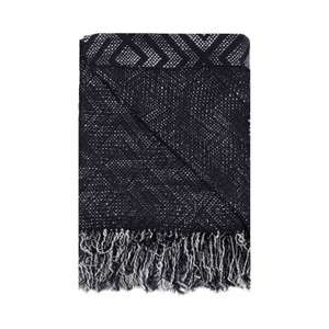 Home Collection - Blue and white diamond throw + Free Delivery with code SH4Z at Debenhams - £13.50